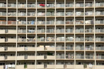 Residential building in Tokyo, Japan