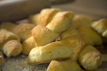 Homemade gluten free rolls.