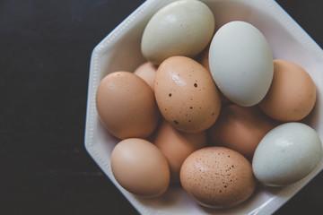 Beautiful Gathering of Eggs