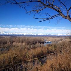 Tornavento - vista sulla valle del ticino
