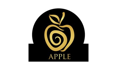 apple icon gold