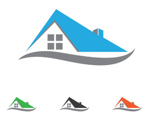 Building Home Property Logo Template