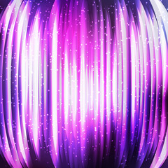 Shining abstract cosmic background