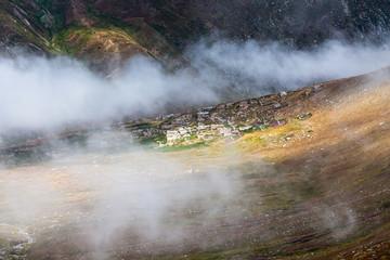 Beautiful mountain scenery in Kackar,Turkey