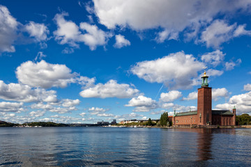 City on the water, Stockholm City Hall, Stockholm, Sweden