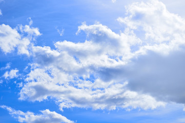 Dramatic cloudy sky clouds - natural sky background