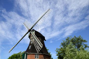 Windmühle bei Oldenswort - Eiderstedt - Nordsee