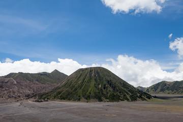 Batok and Bromo Volcano form East Java