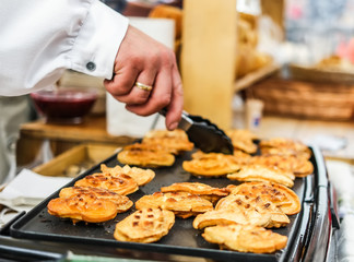frying bakery at rair