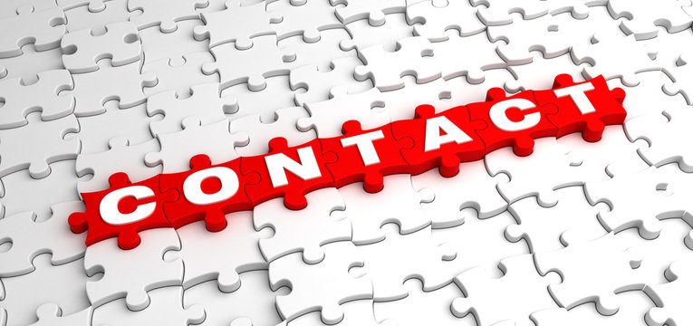 Contact Jigsaw Puzzle