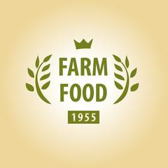 Vector logo for farming.