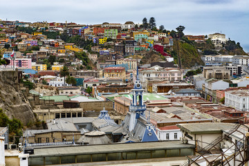 View of Valparaiso, Chile, 2013