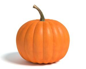 3d illustration of a pumpkin