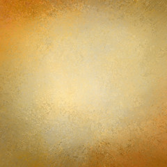 elegant gold background texture paper, faint rustic grunge border paint design, old distressed gold wall paint