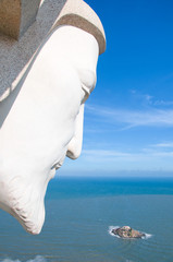 Jesus Christ in Vung Tau, Vietnam. Vung Tau is a famous coastal city in the South of Vietnam.