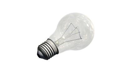 light bulb - isolated