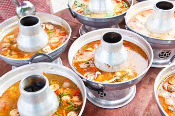 Tom Yam Koong - Thai spicy shrimp soup