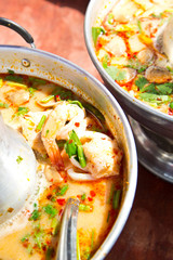 Tom Yam Koong - Thai spicy shrimp soup