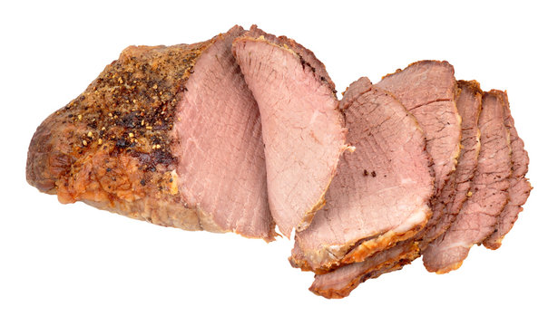 Roasted Prime Silverside Beef Joint