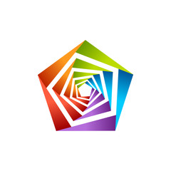 Pentagonal Colorful Hole