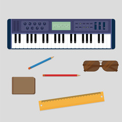 Keyboard player musician stuff from the top