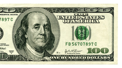 Dollars closeup