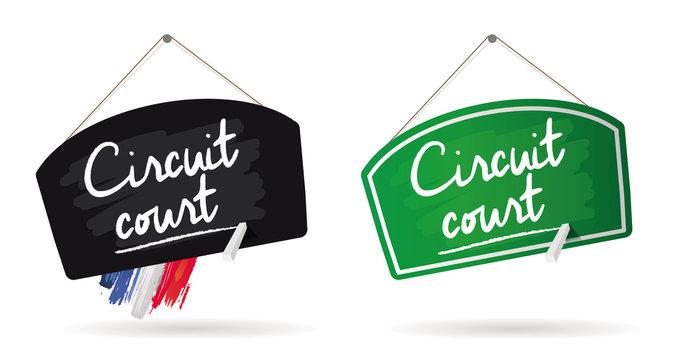 panneau circuit court