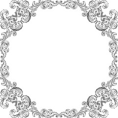 Victorian luxury frame