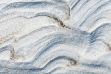 abstract background snow dunes of sand