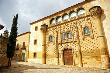 Palace of Jabalquinto, Baeza, province of Jaen, Andalucia, Spain