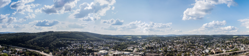 siegen city panorama germany