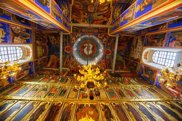 Cathedral of the Nativity (1222) Interior, Suzdal
