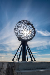 North Cape in Finnmark, Northern Norway.