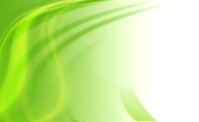 abstract curve line green background