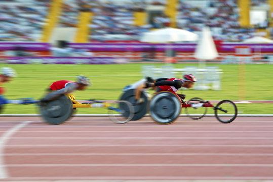 wheelchair bike race