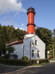 Lighthouse in Rozewie, Poland