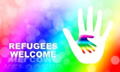 Helfende Hände für Flüchtlinge