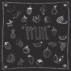 fruit icon draw