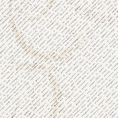 Vector seamless pattern with a hand-written Latin text on the