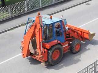 Excavator digger