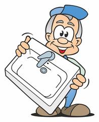Plumber Lavatory