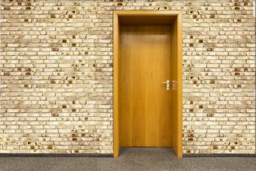 Tür Eingang Willkommen