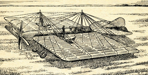 Mozhaysky's airplane, 1884