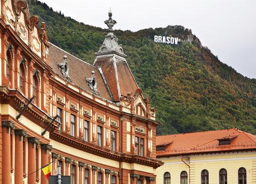 Council of Brasov County. Romania