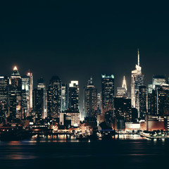 Fototapete - Midtown Manhattan skyline
