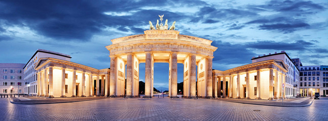 Brandenburg Gate, Berlin, Germany - panorama