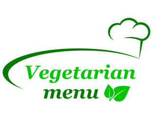 vegetarian menu background
