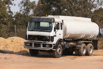 Truck Water Tanker construction industrial vehicle