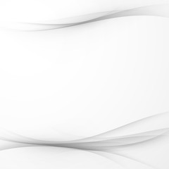 Modern swoosh gradient gray lines background