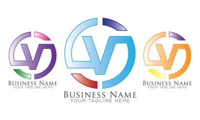 V Group Logo Vector